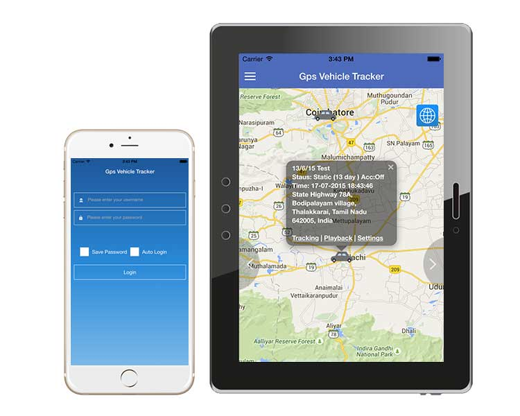 Gps Vehicle Tracker - AgileSoftlabs Web Development, Design Portfolio