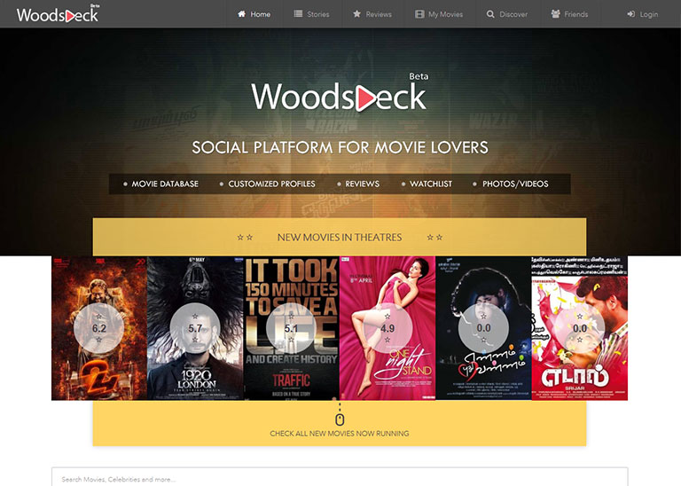 WoodsDeck - AgileSoftLabs Ruby on Rails Web Development, Design Portfolio